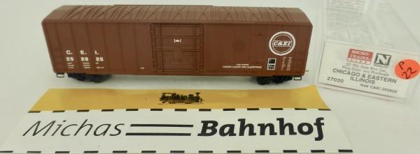 C&EI 50' Rib Side Boxcar 252825 Micro Trains Line 27030 1:160 P22 å