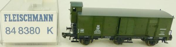 Fleischmann 848380 gedeckter 3achs Güterwagen Bhs grün Ep3 DB OVP N 1:160 HQ3 µ