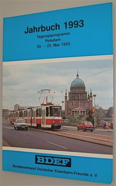 BDEF Jahrbuch 1993 Tagungsprogramm Potsdam 20 23 Mai 1993 å
