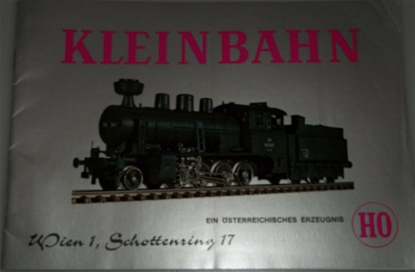 Kleinbahn Katalog 1974