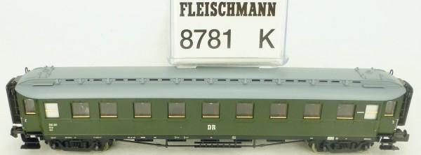 Fleischmann 8781 Schnellzugwagen 2.Kl B4üp DR EpIII OVP N 1:160 HR4 µ