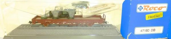Rungenwagen DB mit BW Unimog Roco 47180 H0 1:87 OVP #KC4 å