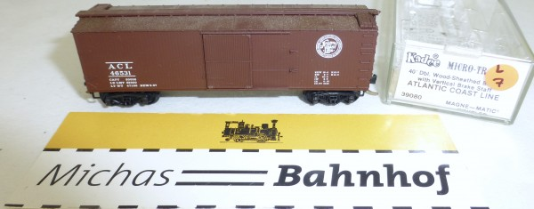 MICRO TRAINS 39080 ACL 46531 40' Wood Sheathed Boxcar N 1:160 OVP #07L å