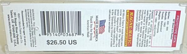 National Packing Company 40 Steel Ice Micro Trains 059 00 161 N 1:160 OVP HS3 å