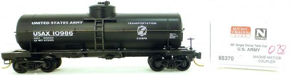 Micro Trains Line 65370 US Army 10986 39' Single Dome Tank Car 1:160 OVP #i028 å
