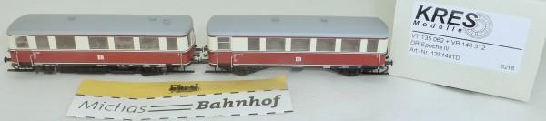VT 135 062 VB 140 312 Diesel TW m Beiwg Digital Kress 1351401D TT 1:120 HL3 µ