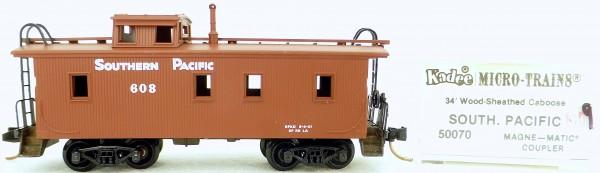 Micro Trains Line 50070 SP 608 34' Wood Sheathed CABOOSE 1:160 OVP #K009 å