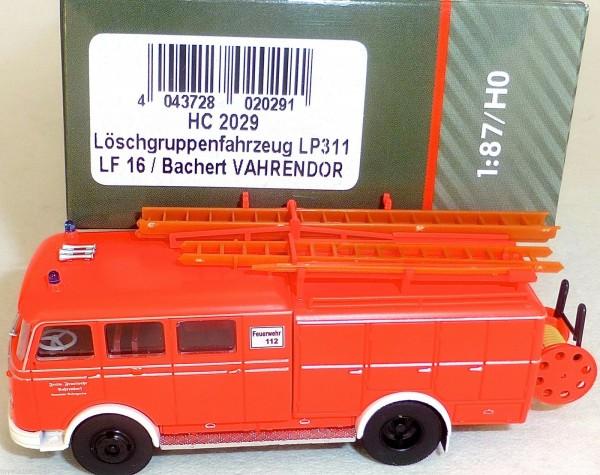 Löschgruppenfahrzeug LP311 LF16 Bachert VAHRENDOR HEICO HC2029 OVP NEU µ