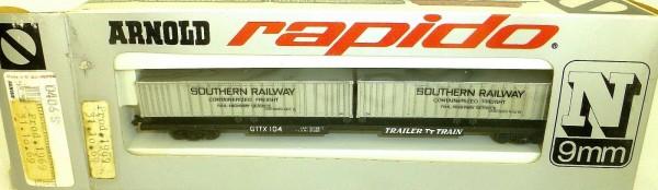 Southern Railway GTTX Container 31.10.69 ARNOLD rapido 0406S N 1:160 OVP HU3 å *