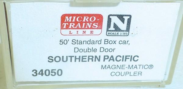 Micro-Trains Line 34050 Southern Pacific 50' Standard Box Car N 1:160 A å *