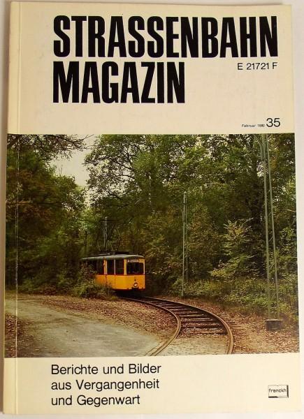 Straßenbahn Magazin Heft 35 Februar 1980, S. 1-80 Franckh'sche Verlagshandlung