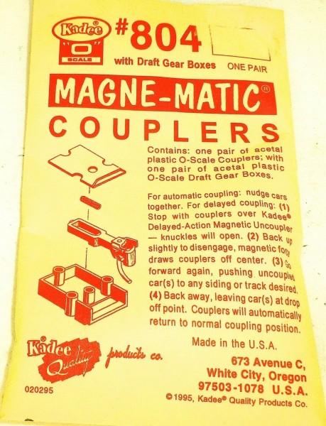 KADEE 804 Magne Matic Couplers H0 1:87 å *