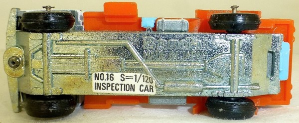 KLM Inspection Car 1:120 BANDAI 2339 Airport Series No 16 OVP HB3 å √