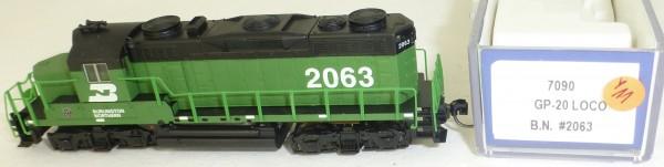 Life Like 7090 Burlington Northern 2063 GP-20 Diesellok N 1:160 OVP Y11 å *