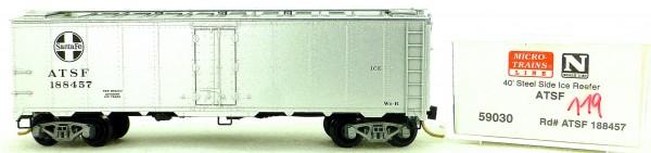 Micro Trains Line 59030 ATSF 188457 40' Steel Ice Reefer 1:160 OVP #i119 å