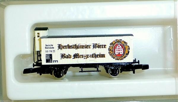 Herbsthäuser Biere Bad Mergentheim Märklin Güterwagen Spur Z 1/220 *116* å