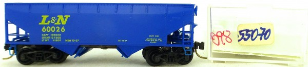 Micro Trains Line 55070 Louisville Nashville 60026 33' Twin Hopper OVP 1:160 #K98 å