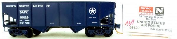 Micro Trains Line 56120 US Air Force 55129 33' Twin Hopper OVP 1:160 #K161 å