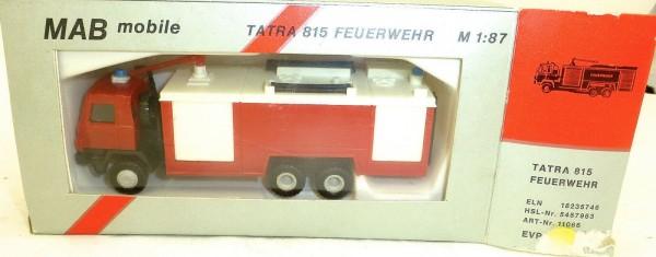 Tatra 815 Feuerwehr MAB mobile 11066 H0 1:87 OVP HD2 å √