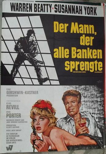 Der Mann der alle Banken sprengte Beatty Filmplakat å