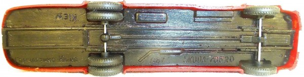 Skoda 706 RO rot beige RK Kiew BUS H0 1:87 å *