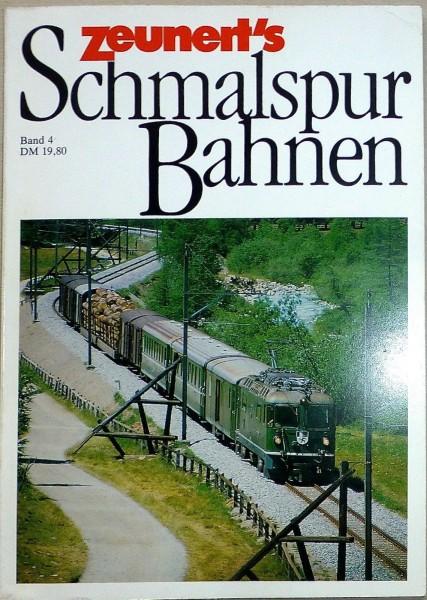 Band 4 Zeunert's Schmalspur Bahnen å *