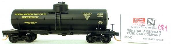Micro Trains Line 65040 GATX 19338 39' Single Dome Tank Car 1:160 OVP #i081 å