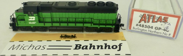 GP-40 Burlington Northern No Atlas 48504 Diesellok N 1:160 OVP ∆16 å