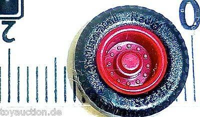 100 x Reifen mit roter Felge Herpa Albedo 1:87 5001 å
