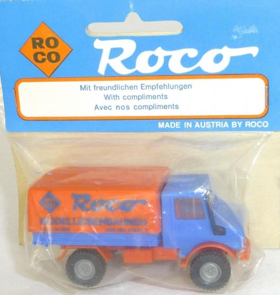Unimog Messemodell Werbemodell Roco OVP H0 1/87 # å