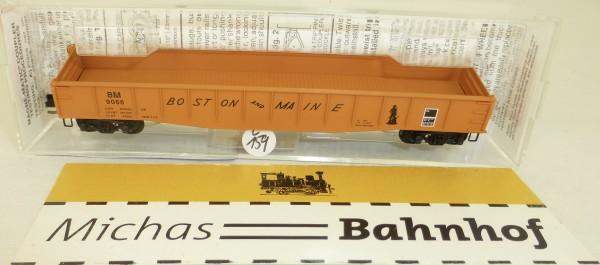 MICRO TRAINS 46180 Boston & Maine 9066 50' Gondola drop ends N 1:160 #159L.å