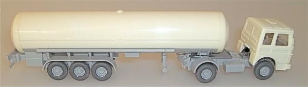 Rein weiss LKW Tanksattelzug Kessel in weiß ohne Druck WIKING 1/87 LI2 å *
