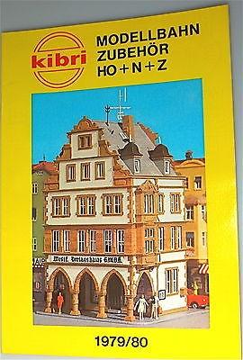 Kibri Katalog 1979 1980 å *