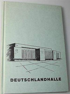 Broschüre Anlässlich der Umgestaltung der Deutschlandhalle September 1973 å