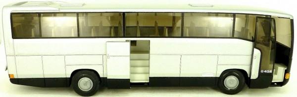 NZG 361 O 404 SHD Reisebus Mercedes Benz silber 1:43 OVP å *