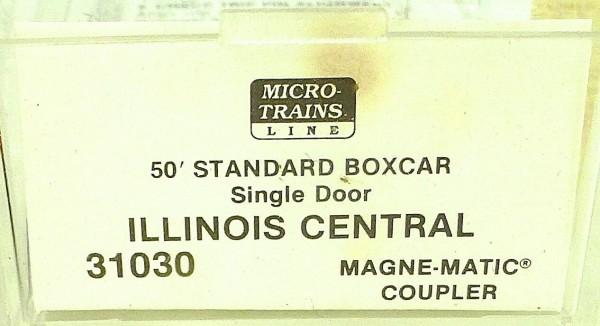 50´ Standard Boxcar ILLINOIS CENTRAL 523469 Micro Trains Line 31030 N 1:160 C å*