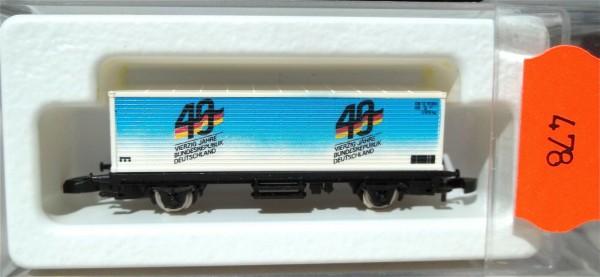 40 Jahre BRD, Containerwagen, Kolls 90709 Märklin 8615 Spur Z 1/220 *478* # å