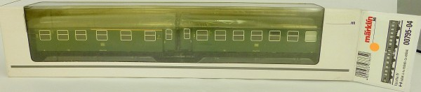 Märklin 00795-04 Umbauwagen Paar DB 1./2. Kl EpIV H0 1:87 NEU µ