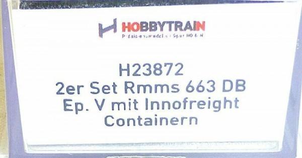 Set Rmms 663 DB EpV Innofreight Containern Hobbytrain H23872 NEU 1:160 N#HS2 µ