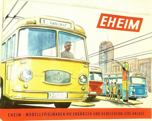 EHEIM Modellspielwaren H0 Katalog å *