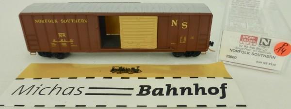 Norfolk Southern 50' Rib Side Boxcar 2210 Micro Trains Line 25660 1:160 P14 å