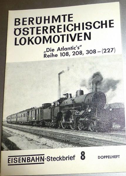 Eisenbahn Steckbrief 8 Berühmte Österreichische Lokomotiven Atlantic's HJ3 å *