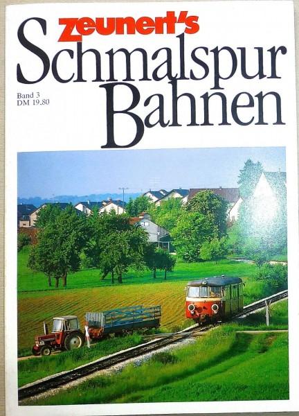 Band 3 Zeunert's Schmalspur Bahnen å *