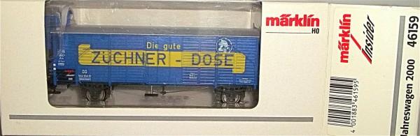 Märklin 46159 Insider Jahreswagen 2000 Züchner Dose 1:87 NEU OVP å *