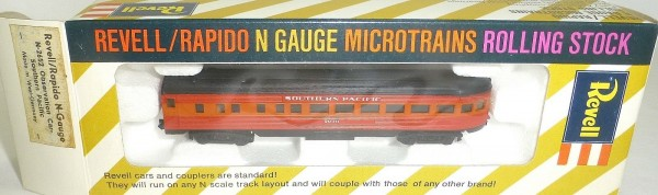 Southern Pacific Observation Car Revell rapido microtrains N-2652 OVP HT5 å *
