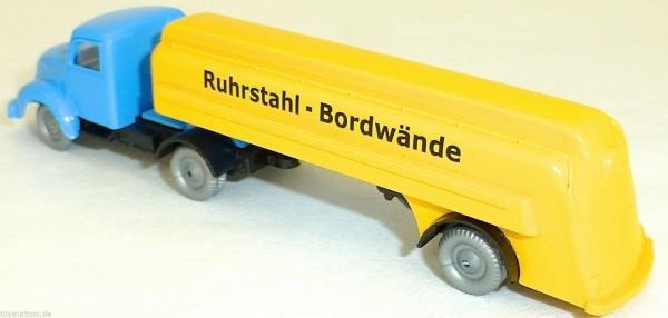 Ruhrstahl Bordwände Tanksattelzug Magirus IMU 1:87 H0 å