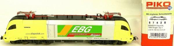 Piko 57428 Siemens Dispolok EBG Rügen EpV ES 64 U2-019 H0 1:87 OVP KA2 å *
