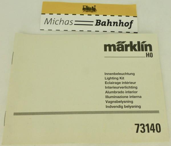 73140 Anleitung Märklin H0 å LH4