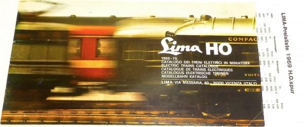 LIMA Katalog 1969 / 70 H0 å