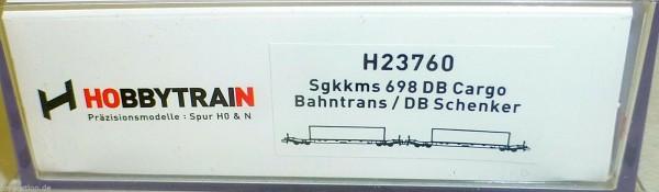 Sgkkms 698 DB Cargo Bahntrans Schenker Hobbytrain H23760 N 1:160 NEU HR4 µ *